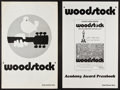 "Movie Posters:Rock and Roll, Woodstock (Warner Brothers, 1970). Uncut Pressbooks (2) (MultiplePages, 11"" X 17""). Regular and Academy Award Style. Rock a...(Total: 2 Items)"