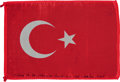 Transportation:Space Exploration, Apollo 15 Flown National Flag of Turkey Directly from the PersonalCollection of Mission Command Module Pilot Al Worden, Signe...