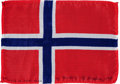 Transportation:Space Exploration, Apollo 15 Flown National Flag of Norway Directly from the PersonalCollection of Mission Command Module Pilot Al Worden, Signe...