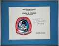 Transportation:Space Exploration, Space Shuttle Columbia - Spacelab 1 (STS-9) FlownEmbroidered Mission Patch Worn by Mission Commander John You...