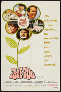 """Movie Posters:Comedy, The Love Bug and Other Lot (Buena Vista, 1969). One Sheets (2) (27""""X 41""""). Comedy.. ... (Total: 2 Items)"""