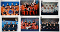 Autographs:Celebrities, Space Shuttle Program: Large Collection of Crew-Signed Color PhotosOriginally from the Personal Collection of NASA Spacesuit ...(Total: 70 Items)