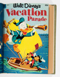 Golden Age (1938-1955):Miscellaneous, Dell Giant Comics Cartoon Character Bound Volume (Dell, 1952-54)....