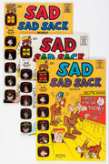 Silver Age (1956-1969):Humor, Sad Sad Sack World File Copy Short Box Group (Harvey, 1964-73) Condition: NM-....