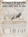 Political:3D & Other Display (pre-1896), Abraham Lincoln: 1863 New York Political Broadside....