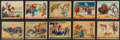 "Non-Sport Cards:Sets, 1933 R172 Gum Inc. ""Wild West Series"" Type 1 Near Set (48/49). ..."