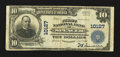 National Bank Notes:West Virginia, Spencer, WV - $10 1902 Plain Back Fr. 628 The First NB Ch. # 10127....