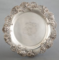 Silver Holloware, American:Trays, A DOMINICK & HAFF ROUND SILVER TRAY . Dominick & Haff, NewYork, New York, 1896. Marks: (rectangle-circle-diamond),925,...