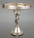 Silver Holloware, American:Center Pieces, A GORHAM COIN SILVER FIGURAL CENTERPIECE . Gorham ManufacturingCo., Providence, Rhode Island, circa 1865. Marks: (lion-anch...