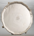 Silver Holloware, British:Holloware, AN ADIE BROTHER'S ENGLISH SILVER SALVER . Adie Brother's Ltd.,Birmingham, England, circa 1960-1961. Marks: (lion passant), ...