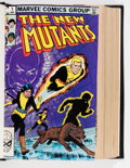 Modern Age (1980-Present):Superhero, The New Mutants #1-51 Bound Volumes (Marvel, 1983-87).... (Total: 3Items)