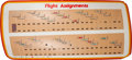 "Transportation:Space Exploration, Space Shuttle: Original NASA ""Flight Assignments"" Board...."
