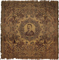 Political:Textile Display (1896-present), Theodore Roosevelt: Colorful Tapestry....