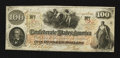Confederate Notes:1862 Issues, T41 $100 1862 PF-1 Cr. 310.. ...