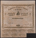 Confederate Notes:Group Lots, Ball 241 Cr. 126 Bond $1000 1863 Very Fine.. ...