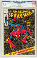 Bronze Age (1970-1979):Superhero, The Amazing Spider-Man #100 (Marvel, 1971) CGC NM+ 9.6 White pages....
