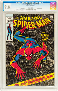 The Amazing Spider-Man #100 (Marvel, 1971) CGC NM+ 9.6 White pages
