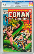 Bronze Age (1970-1979):Superhero, Conan the Barbarian #7 (Marvel, 1971) CGC NM/MT 9.8 White pages....