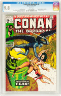 Bronze Age (1970-1979):Superhero, Conan the Barbarian #9 (Marvel, 1971) CGC NM/MT 9.8 White pages....