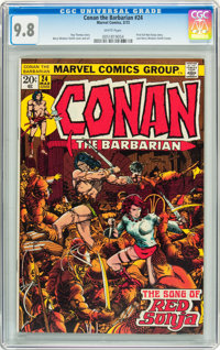 Conan the Barbarian #24 (Marvel, 1973) CGC NM/MT 9.8 White pages