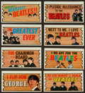 "Non-Sport Cards:Sets, 1964 Topps ""Beatles Plaks"" Partial Set (31/55). ..."