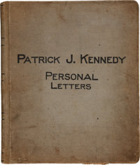 John F. Kennedy: Archive of Letters of Grandfather Patrick