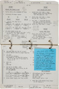 Transportation:Space Exploration, Apollo 13 Flown LM Systems Activation Checklist BookDirectly from the Personal Collection of Mission Commander Ja...