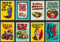 "Non-Sport Cards:Sets, 1965 Topps ""Monster Greeting Cards"" Complete Set (50). ..."