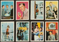 "Non-Sport Cards:Sets, 1965 A & BC Gum ""Girl From U.N.C.L.E."" Complete Set (25). ..."