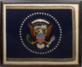 Political:Textile Display (1896-present), Richard M. Nixon: A Highly Important Original White HousePresidential Flag....