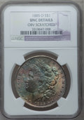 1885-O $1 --Obv Scratched--NGC Details. UNC. NGC Census: (47/162703). PCGS Population (93/142454). Mintage: 9,185,000. N...