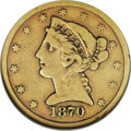 "Liberty Half Eagles: , 1870-CC $5 VG10 NGC. Gold specialists Jeff Garrett and Ron Guth(2006) assert that: ""The gold coins from the early years of..."