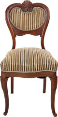 Political:Presidential Relics, James Garfield: Chair from the Garfield White House....