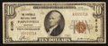 National Bank Notes:Kentucky, Paintsville, KY - $10 1929 Ty. 1 The Paintsville NB Ch. # 6100. ...