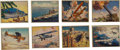 "Non-Sport Cards:Sets, 1939 R173 Gum Inc. ""The World In Arms"" Complete Set (48). ..."