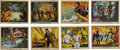 """Non-Sport Cards:Sets, 1935 R147 Schutter-Johnson """"Tarzan and the Crystal Vault of Isis""""Complete Set (50). ..."""