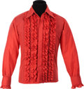 Music Memorabilia:Costumes, The Who - Keith Moon's Ruffle Style Shirt....