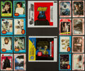 "Non-Sport Cards:Sets, 1977 Topps ""Star Wars - Blue"" (66+11) and 1980 Topps ""The EmpireStrikes Back"" Series 1 (132) Complete Set Pair (2). ..."