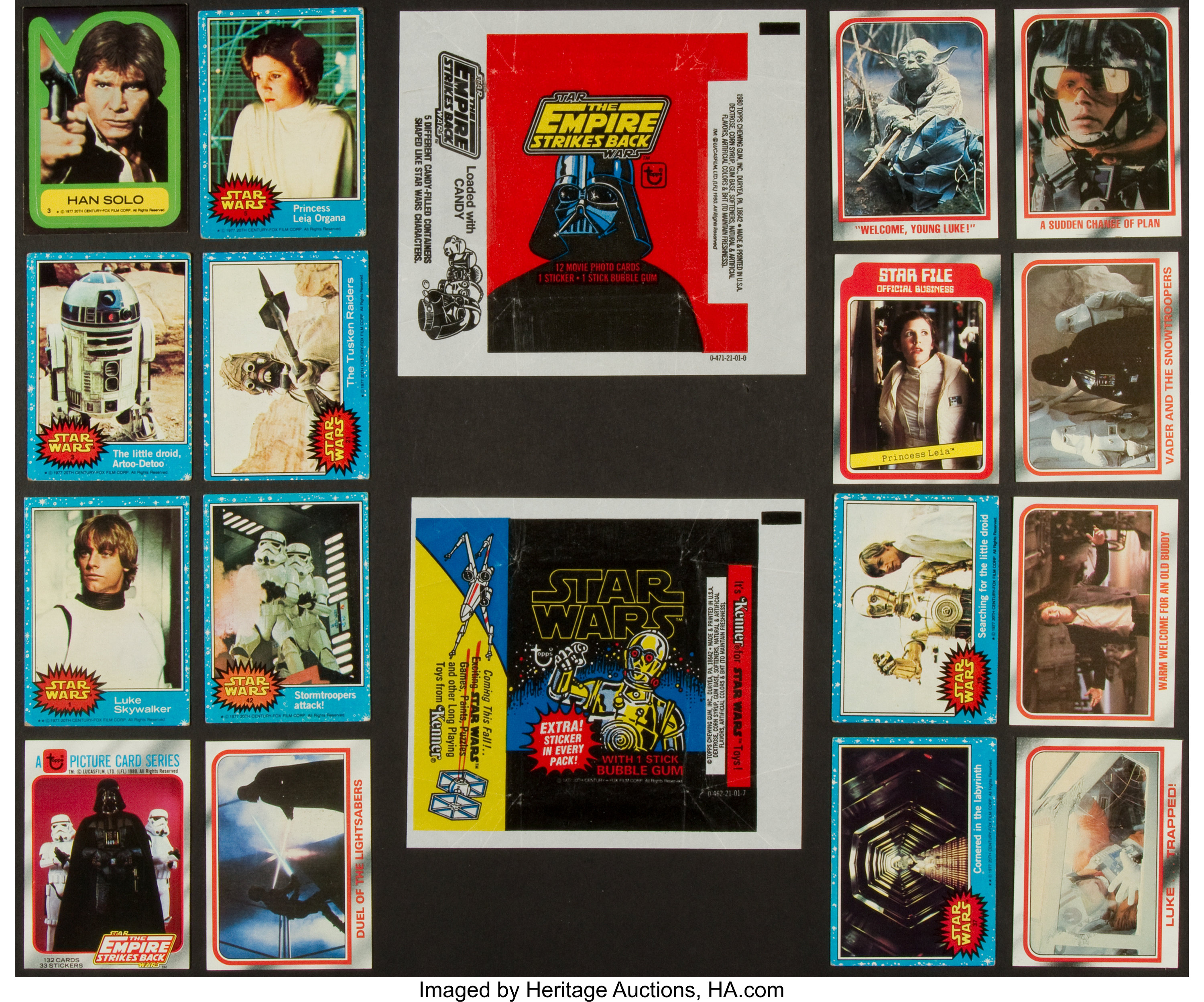 Topps-Star Wars Universe-sticker 132