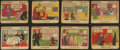 "Non-Sport Cards:Sets, 1935 R48-1 Gum Inc. ""Film Funnies"" Without Names Near Set (21/24)...."