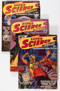 Pulps:Science Fiction, Super Science Stories Group (Popular, 1941-50) Condition: Average VG/FN.... (Total: 4 Comic Books)