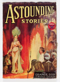 Pulps:Science Fiction, Astounding Stories V12#2 October, 1933 Issue (Street & Smith,1933) Condition: VG+....