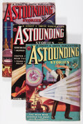 Pulps:Science Fiction, Astounding Stories Group (Street & Smith, 1934) Condition:Average VG+.... (Total: 4 Comic Books)