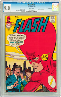 The Flash #177 Twin Cities pedigree (DC, 1968) CGC NM/MT 9.8 White pages