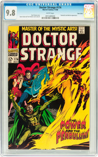 Doctor Strange #174 Twin Cities pedigree (Marvel, 1968) CGC NM/MT 9.8 White pages
