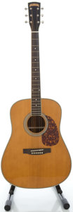Musical Instruments:Acoustic Guitars, Morgan Monroe M-20 Natural Acoustic Guitar, Serial #06070055....