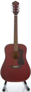 Musical Instruments:Acoustic Guitars, 1979 Guild D-25 Natural Acoustic Guitar, Serial #DA100845....