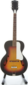 Musical Instruments:Acoustic Guitars, Circa 1970's Silvertone Sunburst Archtop Acoustic Guitar...