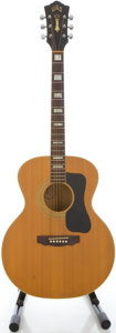 Musical Instruments:Acoustic Guitars, 1976 Guild F-40 Natural Acoustic Guitar, Serial #133681....