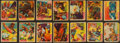 """Non-Sport Cards:Sets, Scarce 1933 R39 National Chicle """"Dare Devils"""" Near Set (14/24). ..."""